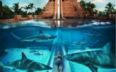 Аквапарк Aquaventure отеля Atlantis The Palm